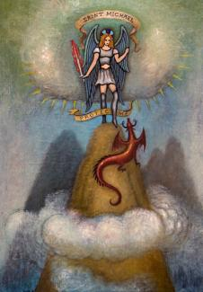 Saint Michael and the Red Dragon