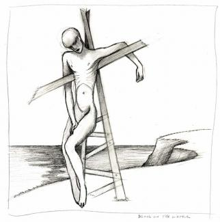 The Tinker Scarecrow Crucified